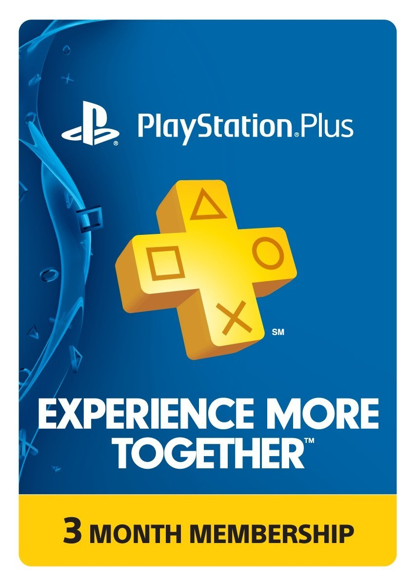 Playstation Plus US 3 Months Code