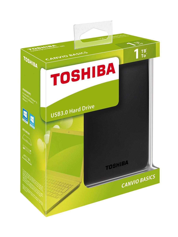 Toshiba 1 TB USB 3.0 Portable External Hard Drive - Epic ...
